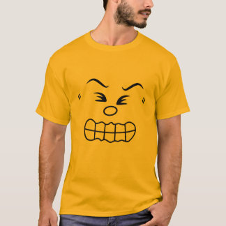 Angry Emoticon Group Costume T-Shirt