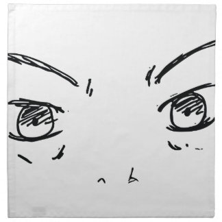 Angry Eyes 1 Napkin