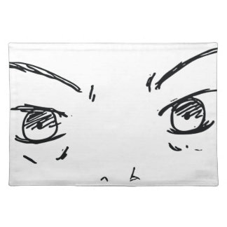 Angry Eyes 1 Placemat