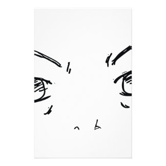 Angry Eyes 1 Stationery