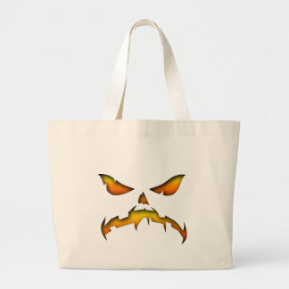 Angry Face Canvas Bags