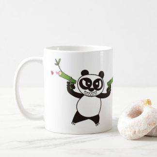 Angry Face Panda 28 Coffee Mug