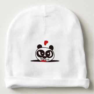 Angry Face Panda 36 Baby Beanie