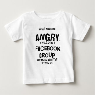angry facebook t-shirt