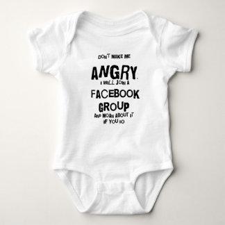 angry facebook tee shirt