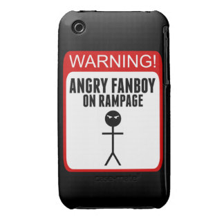 Angry Fanboy iPhone 3G/3Gs Case Case-Mate iPhone 3 Cases