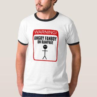 Angry Fanboy Men's Ringer T-Shirt