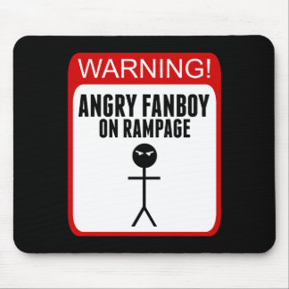 Angry Fanboy Mousepad