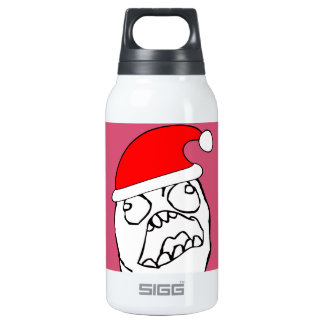 Angry FFFUUU xmas meme 0.3 Litre Insulated SIGG Thermos Water Bottle