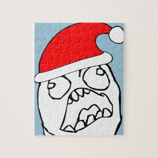Angry FFFUUU xmas meme Puzzle
