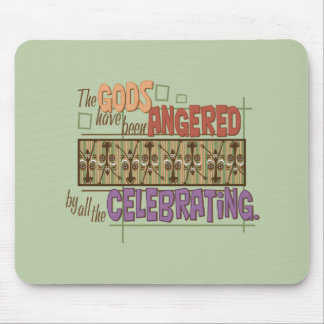 Angry Gods Mouse Pad