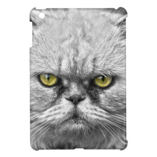 Angry Golden Cat Eyes iPad Mini Cases