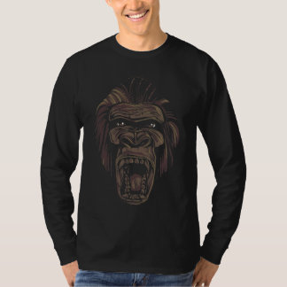 Angry Gorilla, Men's Long Sleeve T-shirt