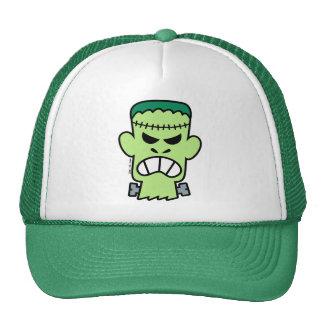 Angry Halloween Frankenstein Cap