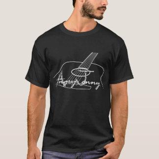 Angry Jenny Black T-shirt