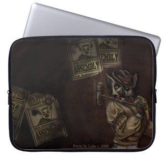 Angry Lemur Laptop and Tablet Bag