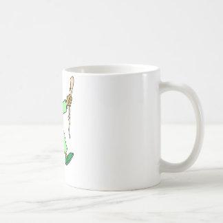 Angry Leprechaun Basic White Mug