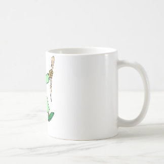 Angry Leprechaun Classic White Coffee Mug