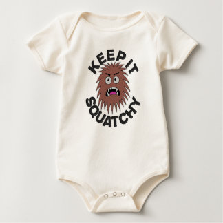 Angry Little Squatch Baby Bodysuit