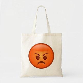 Angry/Mad Emoji Tote Bag