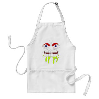 Angry Mad Face Apron