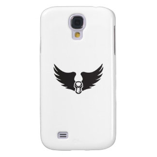 Angry Mallard Duck Head Wings Retro Galaxy S4 Cover
