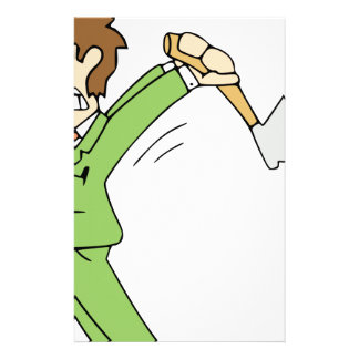 Angry Man with Axe Stationery