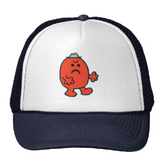 angry mans cap hat