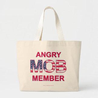 Angry Mob Member Jumbo Tote Bag