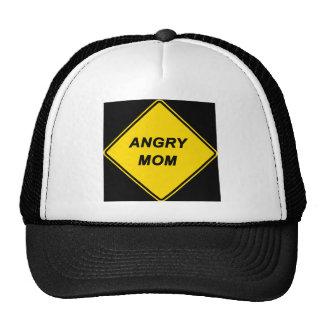 """Angry Mom"" design Mesh Hat"
