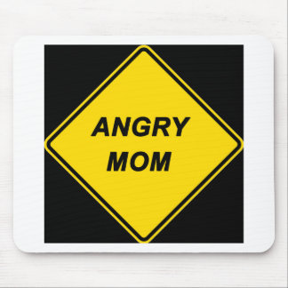 """Angry Mom"" design Mouse Pad"