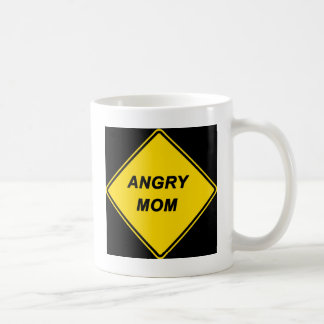 """""""Angry Mom"""" design Mug"""