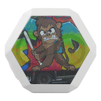 Angry Monkey graffiti speaker boombox