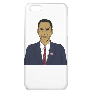 Angry Obama iPhone 5C Cases