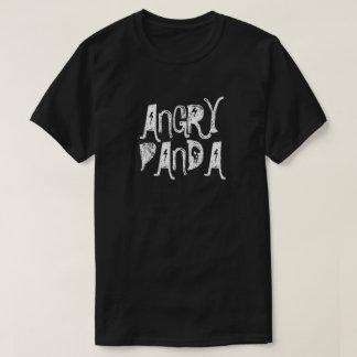 Angry Panda Men's Basic Dark T-Shirt