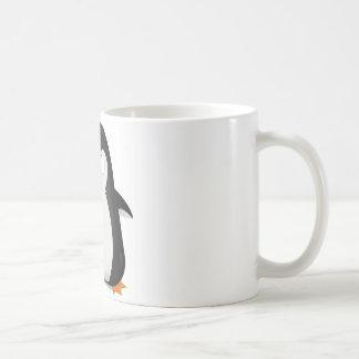 Angry penguin design coffee mug