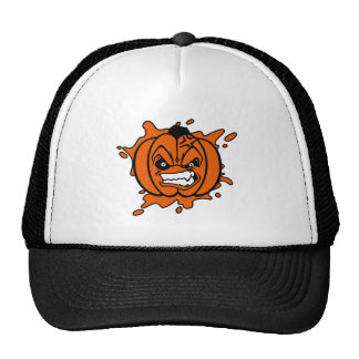 Angry Pumpkin Hat