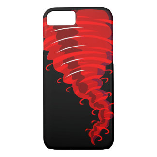 Angry Red Twister Tornado Phone Case