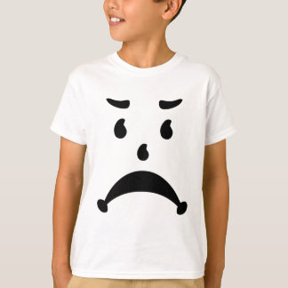 Angry Sad 80s Child Parody T-Shirt