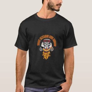 Angry-Scotsman-Beer-Drinker T-Shirt