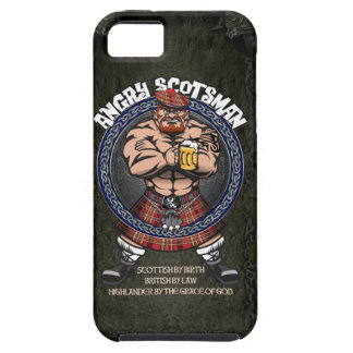 Angry Scotsman Iphone iPhone 5 Cases