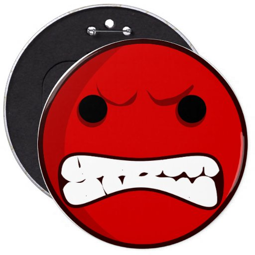 Angry Smilie button