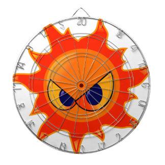 Angry Sun Dartboard