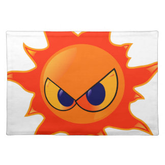 Angry Sun Placemat