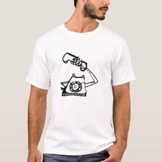 angry telephone for a lady T-Shirt