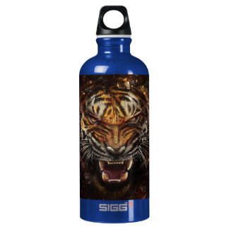 Angry Tiger Breaking Glass Yelow SIGG Traveller 0.6L Water Bottle