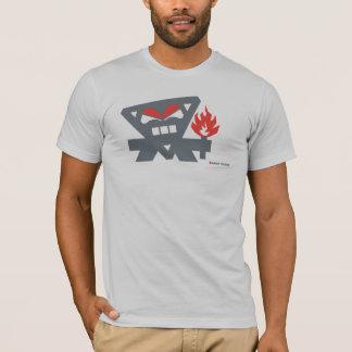 Angry Tikiman - Grey T-Shirt