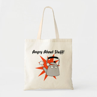 Angry Tote Bag Funny Gift for Grandparents Anger