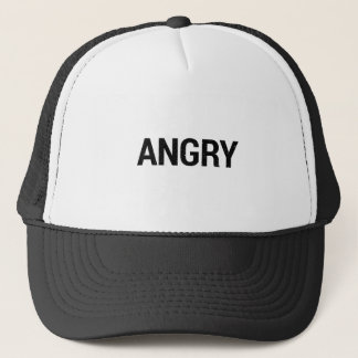 Angry Trucker Hat