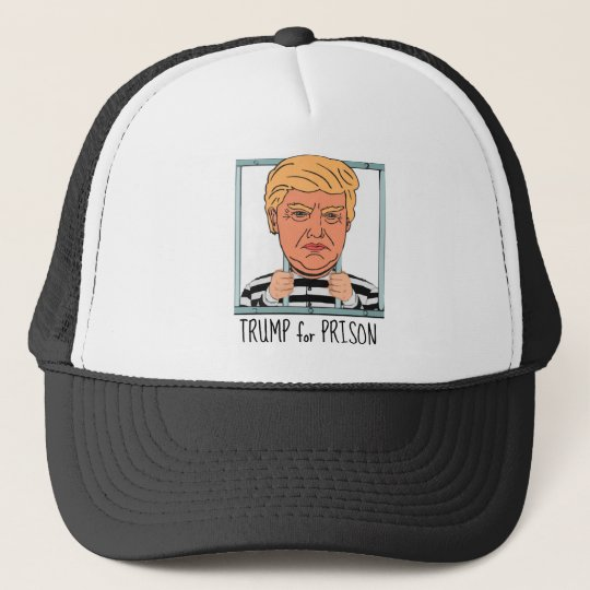 Angry Trump for Prison Cap